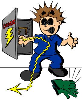 Como evitar choques eletricos
