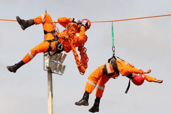Como realizar resgate em altura