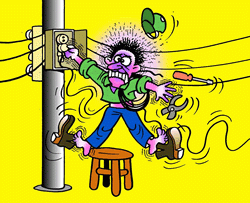 Evitar acidentes eletricos