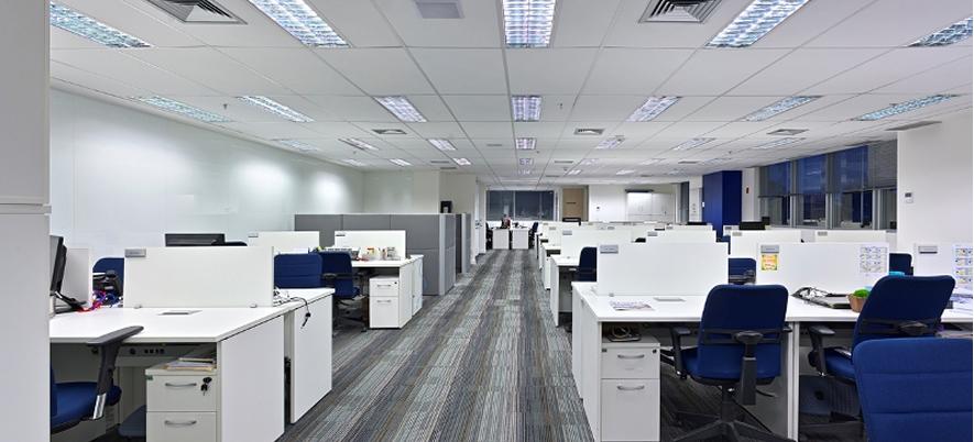 A influencia da iluminacao no trabalho