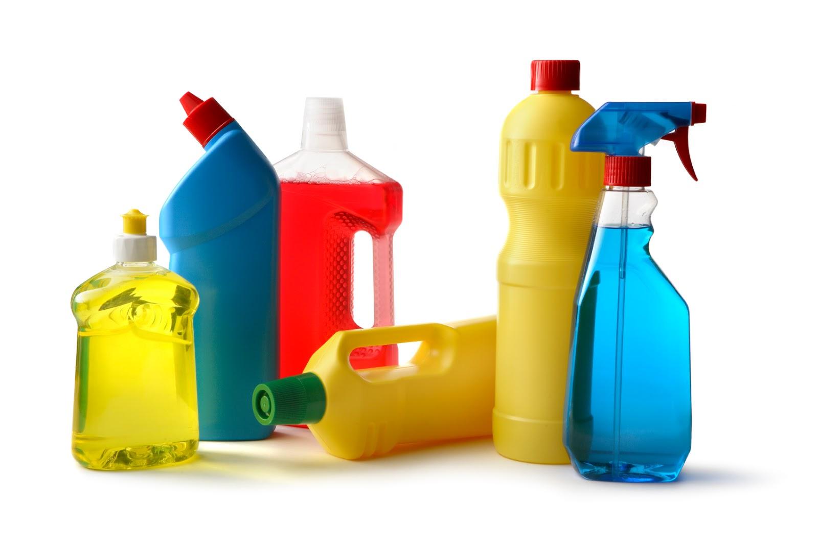 Cuidados ao manuseio de produtos quimicos