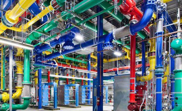 Cores tubulacoes google