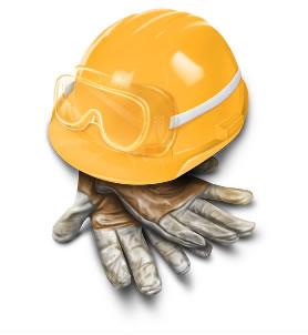 Imagem de um EPI, tudo sobre seguranca do trabalho.
