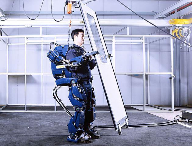 Robo exoesqueleto - Instituto SC